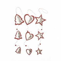 Scandi Star / Heart / Tree Garland