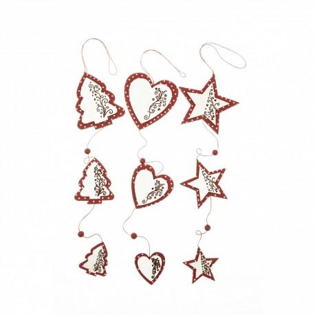 Scandi Star / Heart / Tree Garland