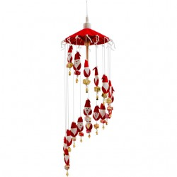 Santa and Bell Windchime
