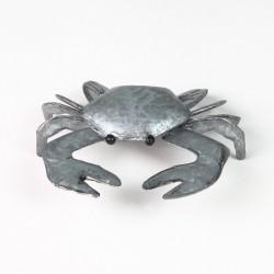 Colin the Crab in Silver Decorative Ornament