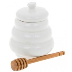White Bamboo Honey Swirl