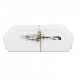 Serving Platter with Cake Slice Gift Set