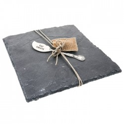 Slate Cheese Board with Knife Gift Set