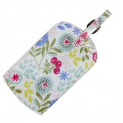 Floral Song Luggage Travel Tag