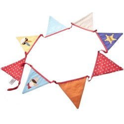 Cowboy & Indian's Fabric Bunting