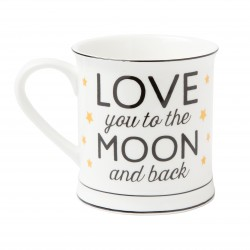 Love you to the Moon and Back Bone China Mug
