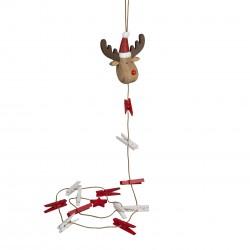 Rudi The Red Nose Reindeer Card Holder