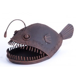 Allan the Angler Fish Decorative Ornament