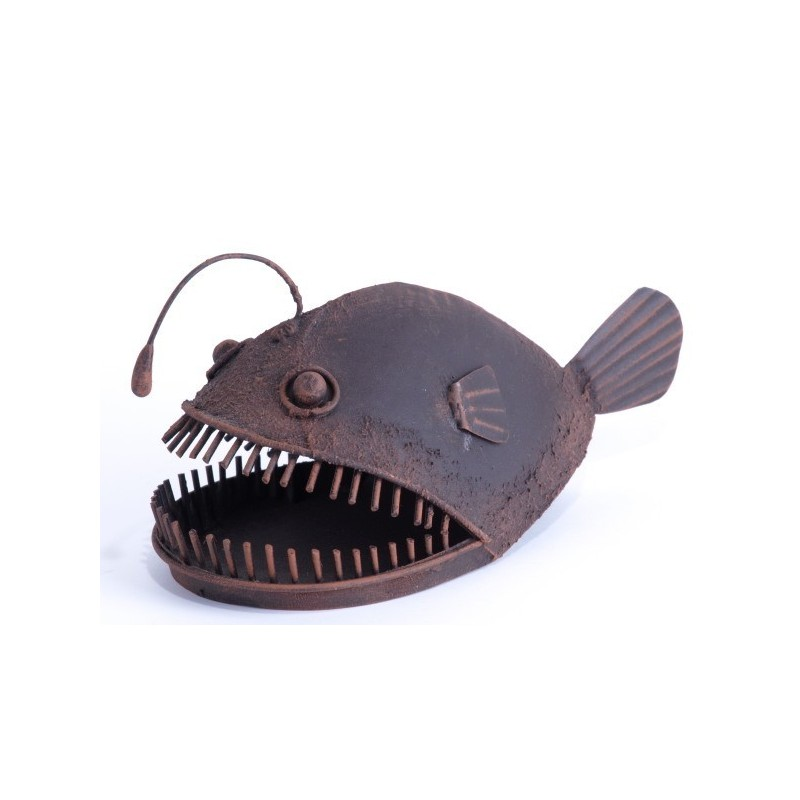 Quirky decorative allan the angler fish nautical for Quirky ornaments uk