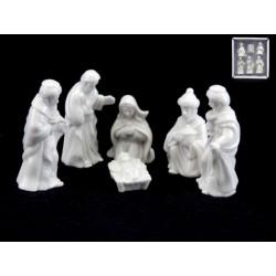 Mini Ceramic Nativity Set