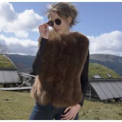 Alpaca Fur Gilet