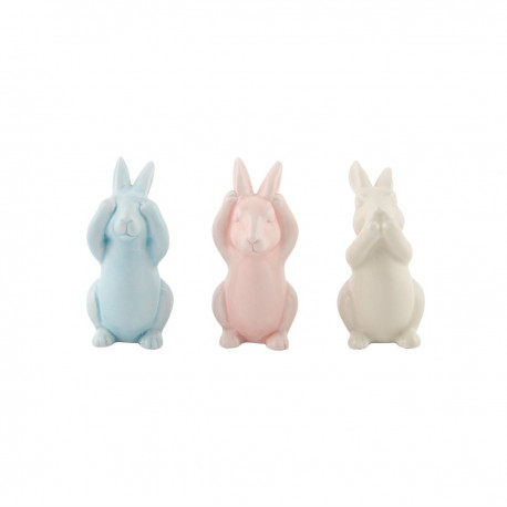 Three Small Wise Bunnies