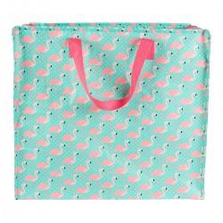 Tropical Flamingo Jumbo Storage Bag
