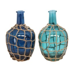 Glass Rope Trellis Vase