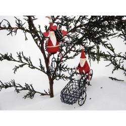 Santa on Trike & Santa on Unicycle