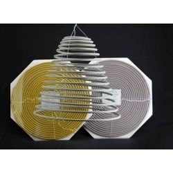 Coloured Citronella Incense Hanging Spiral / Coil