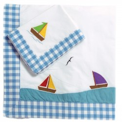 Sailing Boat Duvet Set