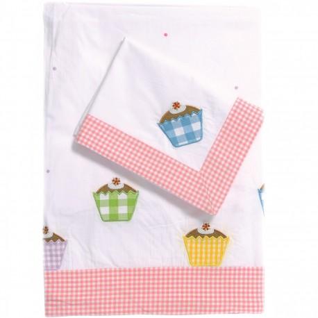 Cupcake Duvet Set