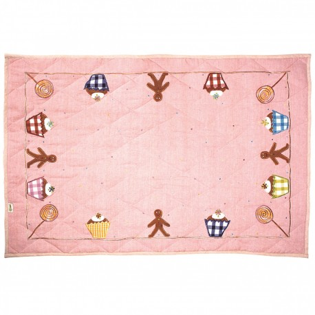 Gingerbread Man and Cupcake Play Mat