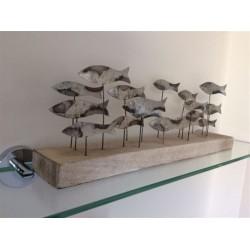 School of Tin Fish on Long Base