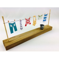 Clothes on Washing Line Ornament