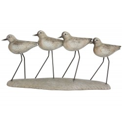 Wading Birds on Plinth