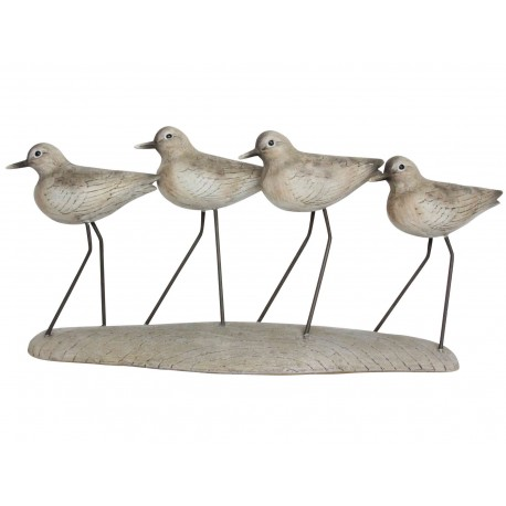 Wading Birds on Plinth