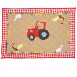 Tractor Barn Floor Quilt