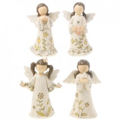 Ceramic Flower Angel Ornament