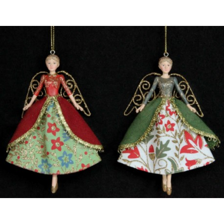 Stately Home Resin Fairy Hanging Decorations