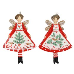 Nordic Yule Fairy Hanging Decorations