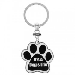 It's A Dog's Life Keyring