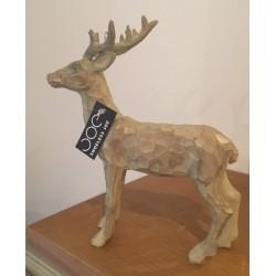 Monarch of The Glen Reindeer Statue