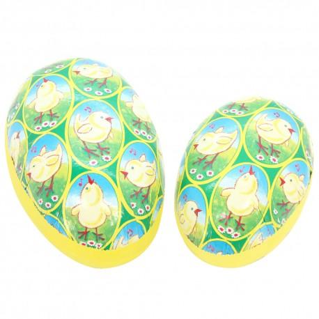 Papier-Mâché Easter Egg Treat Box