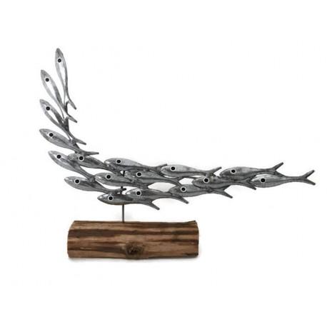 Shoal of Fish Sculpture