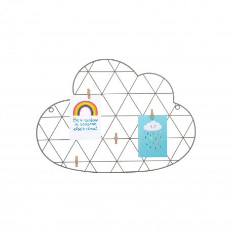 Wire Cloud Peg Memo Board