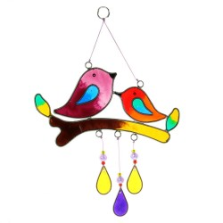 Love Birds Suncatcher