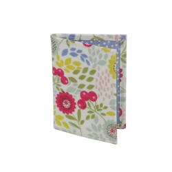 Floral Song PVC Passport Holder