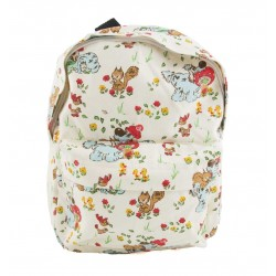 Retro Dog And Friends Kids Backpack