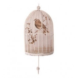 Shabby Chic Bird Cage Hook