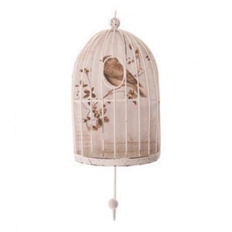 Shabby Chic Bird Cage Hook