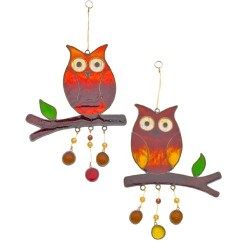 Hanging Owl Sun Catcher