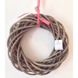 Bleached Willow Twig Wreath