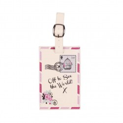 Off to See the World! Luggage Tag