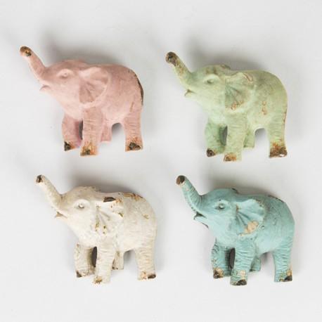 Set of 4 Elephant Magnets