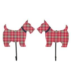 Pair Of Scottie Dogs Style Hooks