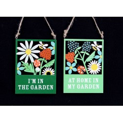 Single Kitchen Garden Cut Out Hanging Decoration
