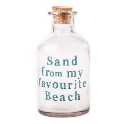 Sand From My Favourite Beach Glass Bottle