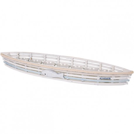 Large 7 Piece Boat Candle Holder