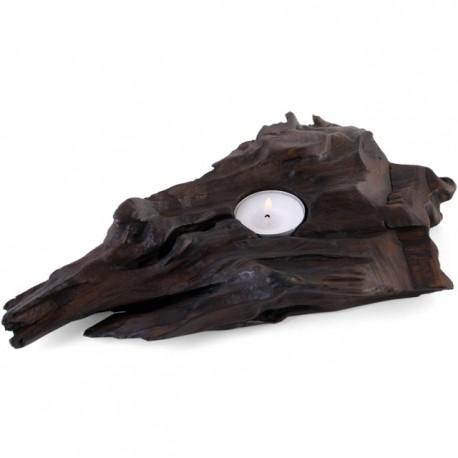 Driftwood Tealight Display